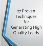 Download Our FREE Guide For Generating High Quality Leads