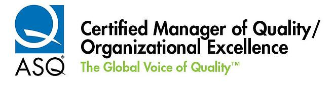 ASQ Certified manager of Quality Organizational Excellence analytics that profit