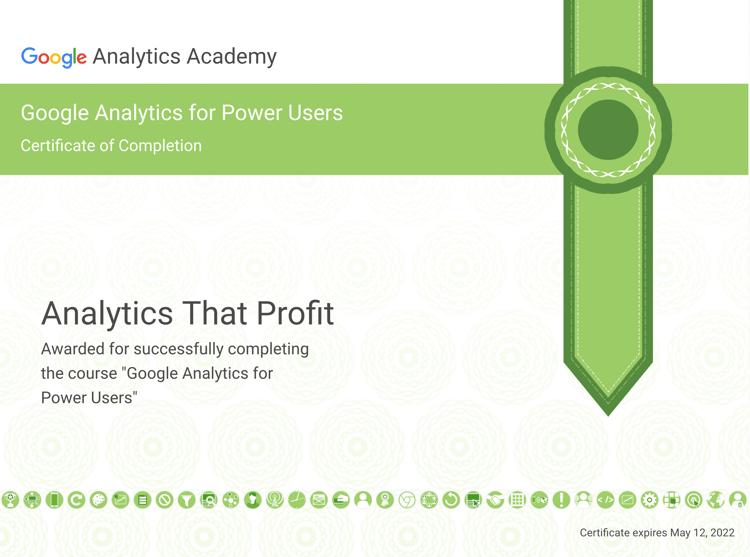 Google Analytics Power Users_analytics that profit