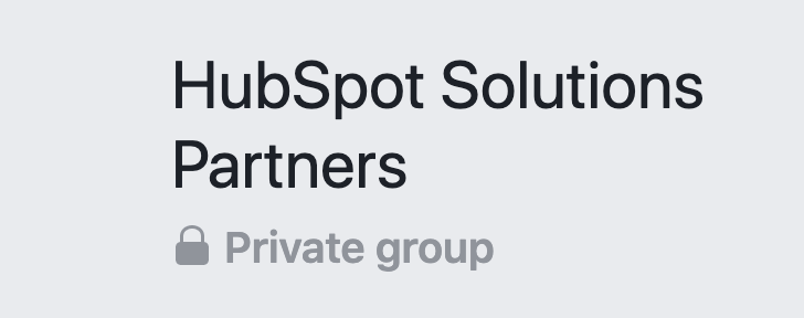 Facebook for business groups
