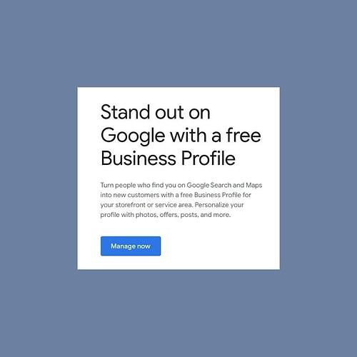 Is Google My Business part of your SEO strategy_what is google my business_analytics that profit