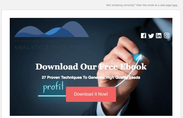 email optimization analytics that profit