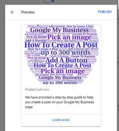 publish a post on your google my business page analytics that profit.png