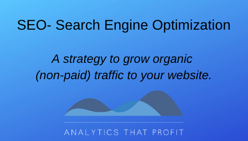 SEO definition_analytics that profit