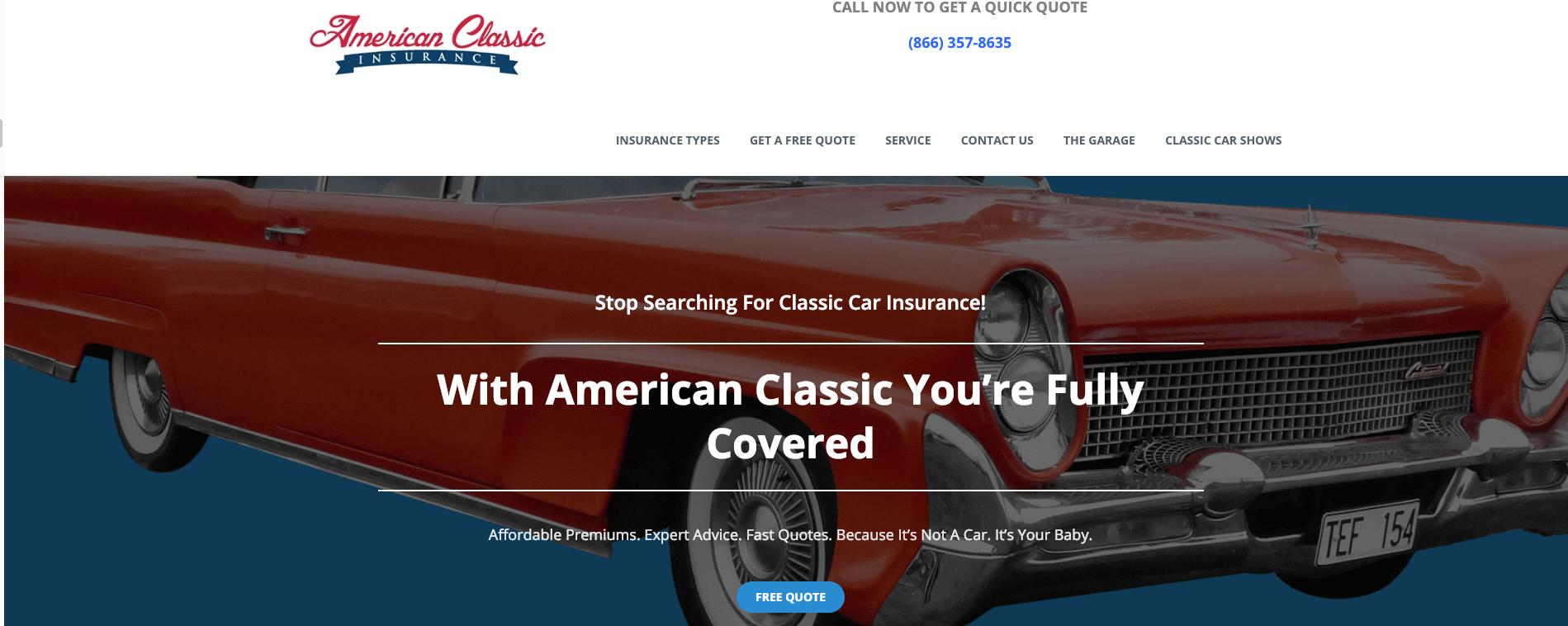 american classic insurance