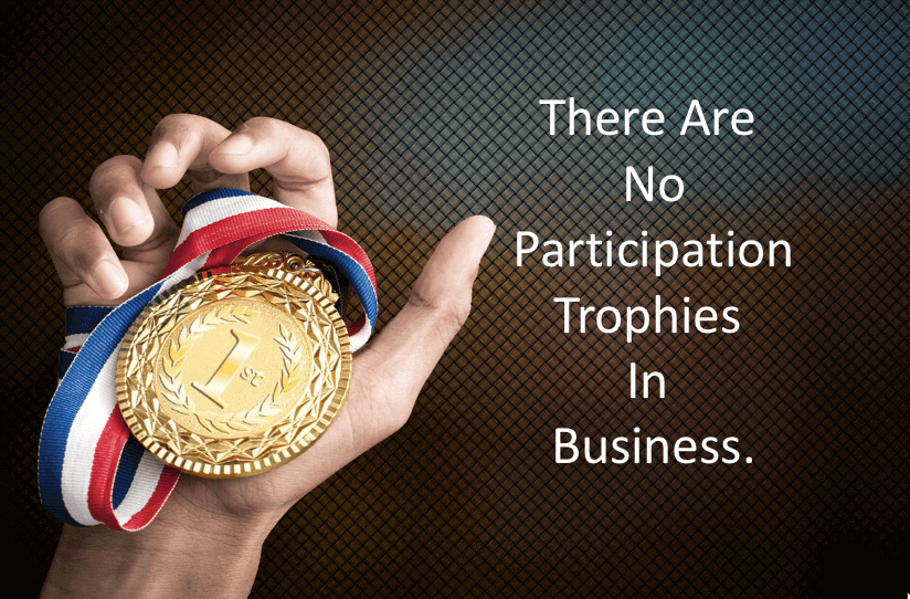 there are no participation trophies in business analytics that profit