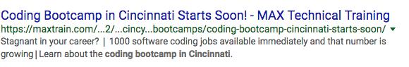 coding bootcamp in cincinnati_analytics that profit