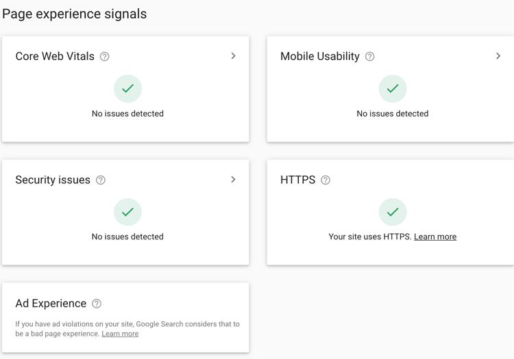 google analytics audit_ page experience signals_analytics that profit