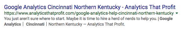 google analytics consultant in cincinnati_analytics that profit