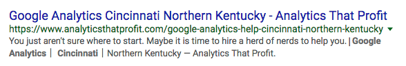 google analytics consultant in cincinnati_analytics that profit