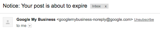 google my business email reminder analytics that profit