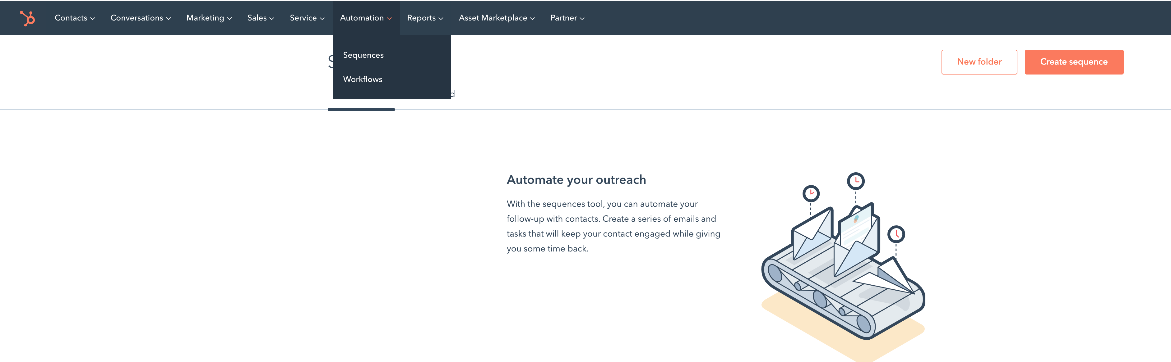 hubspot productivity hack_sequences_find_analytics that prifit