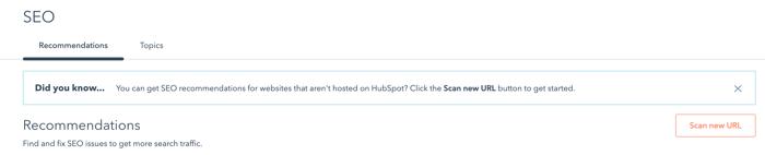 seo tool in hubspot_analytics that profit