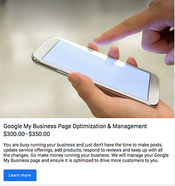product listing on google my business analytics that profit